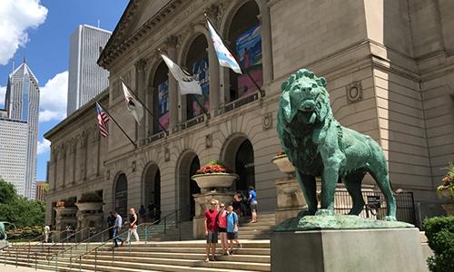 Art Institute Of Chicago, USA